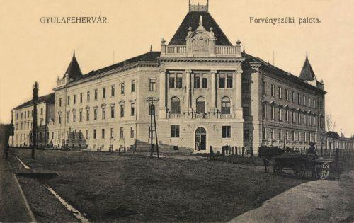 Gyulafehérvár:Törvényszék.1910
