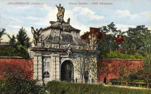 Gyulafehérvár:felső Károly kapu.1913