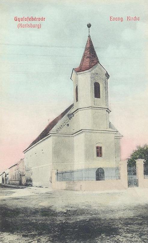 Gyulafehérvár:evangélikus templom.1908