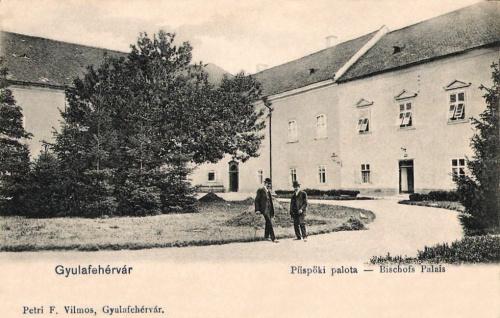 Gyulafehérvár:Püspöki Palota.1903
