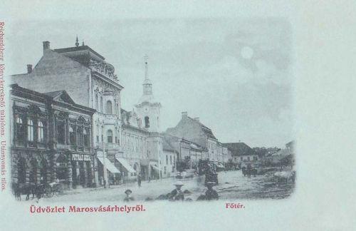 Marosvásárhely:Főtér.1899