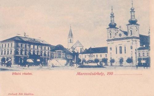 Marosvásárhely:főtér.1901