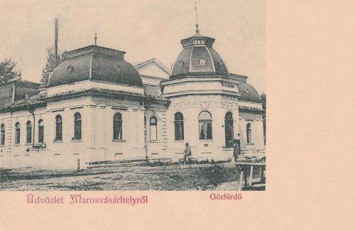 Marosvásárhely:Gözfürdő.1902
