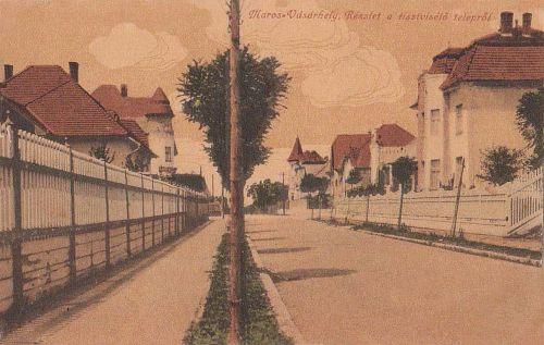 Marosvásárhely:részlet a tisztviselő telepről.1916