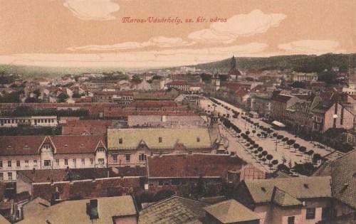 Marosvásárhely:szabad királyi város látképe.1916