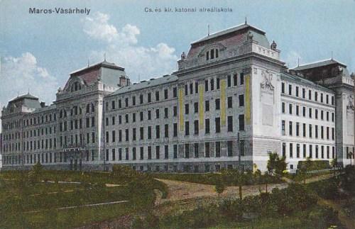Marosvásárhely:császári és királyi katonai alreáliskola.1915