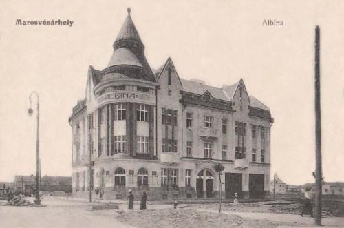 Marosvásárhely:Albina bank.1917
