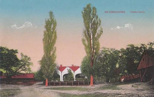 Mezőmadaras:Orbán kúria.1913