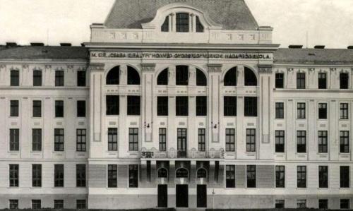 """Magyar királyi """"Csaba királyfi"""" honvéd gyorsfegyvernemi hadapród iskola,1942."""