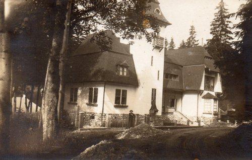 Borszék:Hadl villa,1928-ban.