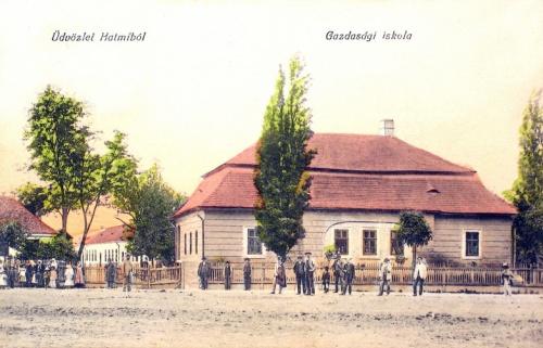 Halmi:Gazdasági iskola.1912