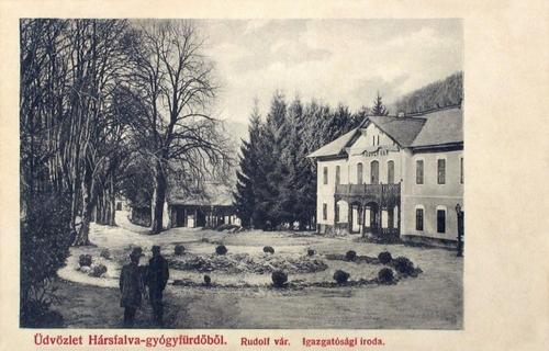 Hársfalva:Rudolf vár.1905
