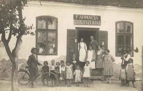 Homorodszentmárton:Gyógyszertár.1926