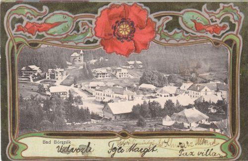 Borszék látképe 1901
