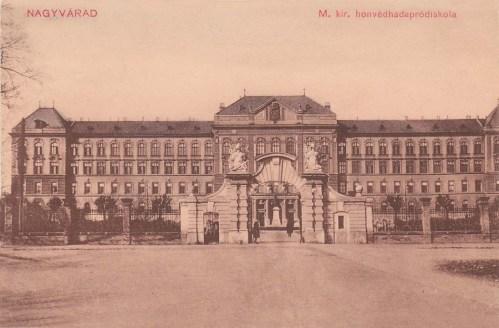 Nagyvárad:honvéd hadapród iskola.1912