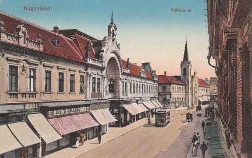 Nagyvárad:Rákóczi út.1915