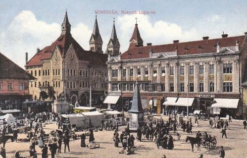 Temesvár:Kossuth Lajos tér.1913