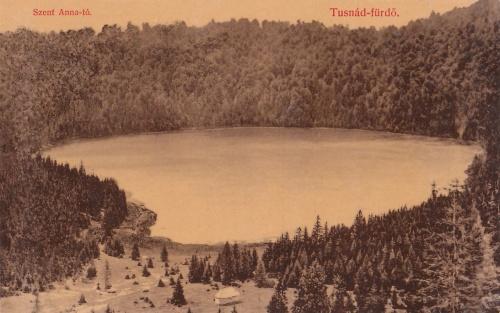 Szent Anna tó a kápolnával.1912