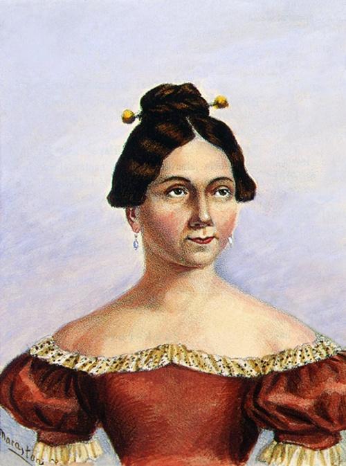 Kántorné Engelhardt Anna színésznő,(1791-1854)meghalt Marosvásárhelyen.