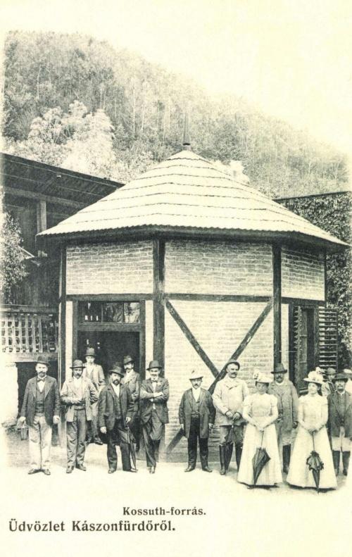Kászonfürdő:Kossuth forrás,1906.