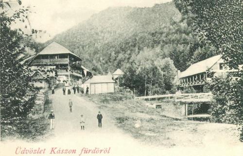 Kászonfürdő:látkép,1900.