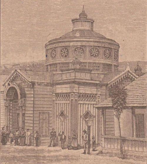 Borszék:Lázár fürdő.1888