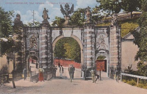Gyulafehérvár:alsó várkapu.1913