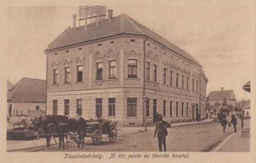 Kézdivásárhely:Magyar Királyi Posta és távirda Hivatal.1916