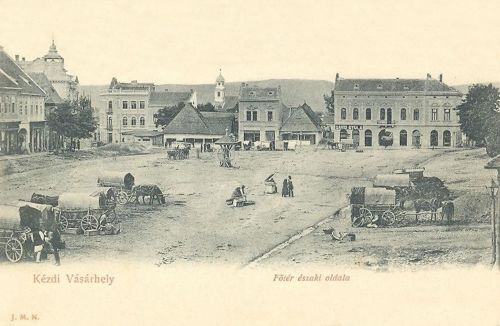 Kézdivásárhely,főtér.1904