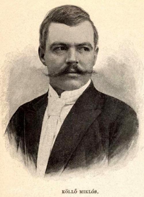 Köllő Miklós szobrászművész,Gyergyócsomafalva:1861-Bp.:1900).