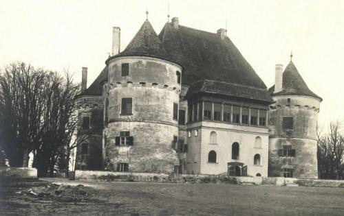 Küküllővár:gróf Haller Jenő kastélya,1942.