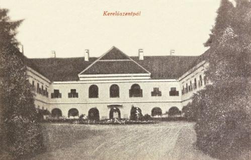 Kerelőszentpál:gróf Haller kastély.1914