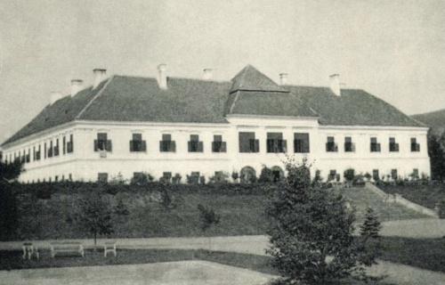 Kerelőszentpál:Haller kastély,1909.
