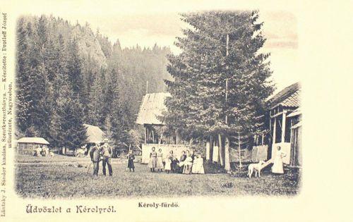 Károly-fürdő,1901