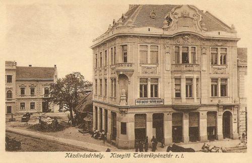 Kézdivásárhely:Kisegitő Takarékpénztár,Első Magyar Biztositó Társaság.1916