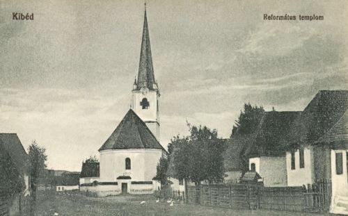 Kibéd:református templom,1918.