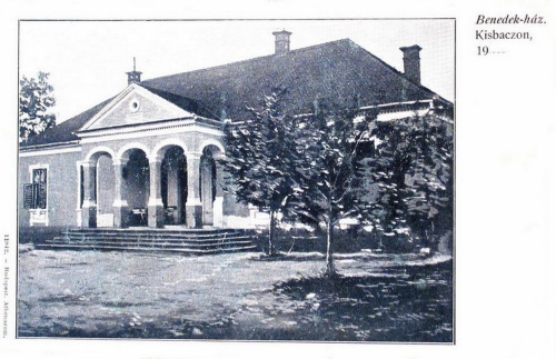Kisbacon:Benedek Elek lakóháza.1903