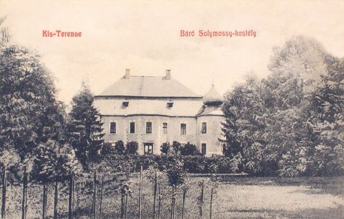 Kisterenye:báró Solymossy kastély.1908