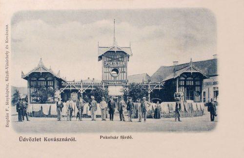 Kovászna:Pokolsár-fürdő.1904