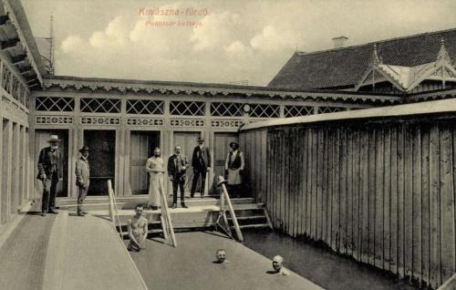 Kovászna:Pokolsár fürdő belseje,1908.