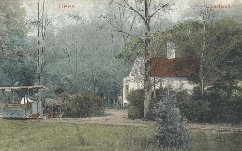 Lippafüred:lóvontatású vasúti kocsi.1910