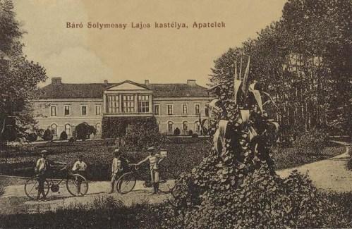Apatelek:báró Solymossy Lajos kastélya.1909