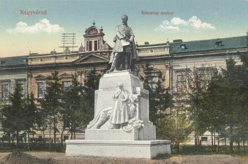 Nagyvárad:Szacsvay szobor.1912