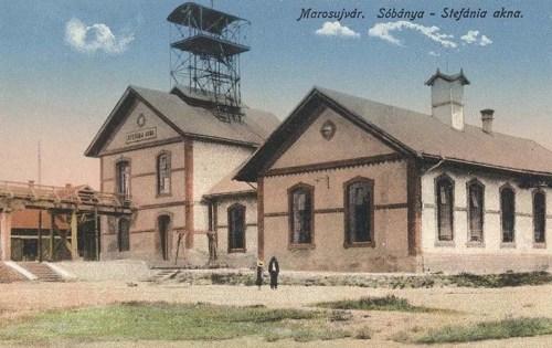 Marosújvár:Sóbánya,Stefánia akna.1916