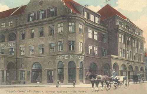 Brassó:Korona szálloda.1912