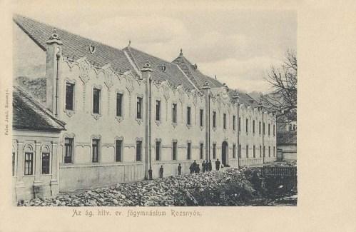 Barcza-Rozsnyó:evangélikus főgimnázium.1905