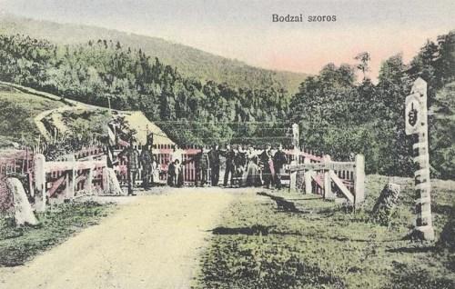 Bodza szoros:magyar-román határ.1916