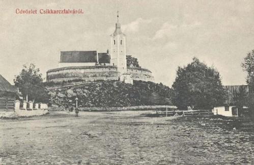 Csikkarcfalva:erődtemplom.1912