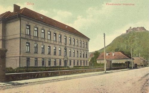 Déva,Főreáliskola internátusa 1907