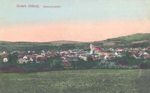 Bátos:látkép.1912